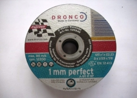 Dronco Trennscheibe AS 60 R-BF INOX perfect