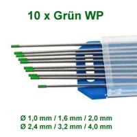 WIG Wolfram Elektroden WP-00 Grün