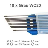 WIG Wolfram Elektroden WC-20 Grau
