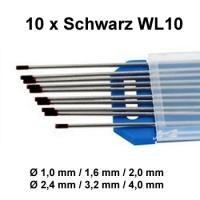 WIG Wolfram Elektroden WL-10 Schwarz