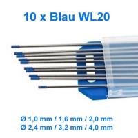 WIG Wolfram Elektroden WL-20 Blau