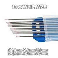 WIG Wolfram Elektroden WZ-08 Weiß