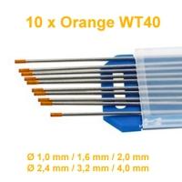 WIG Wolfram Elektroden WT-40 Orange