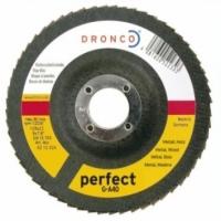 Dronco Fächerschleifscheiben für Holz & Metall - Korn 60