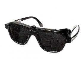 JAS Nylon Schutzbrille / Schweißerbrille