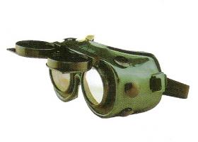 JAS Schweißerbrille hochklappbar Klar + DIN-A5