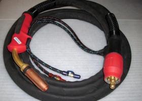 MIG/MAG-Brenner Schlauchpaket MB401/TBI411